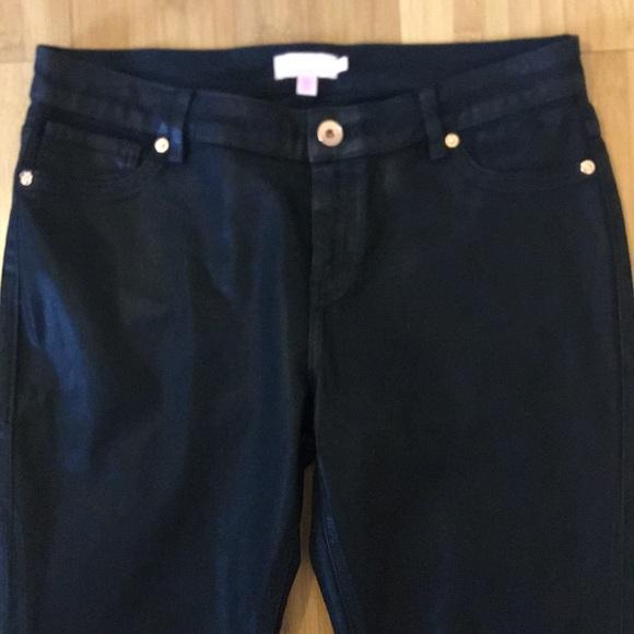 Ted Baker London Denim - Ted Baker Coated Jeans Black Size 32